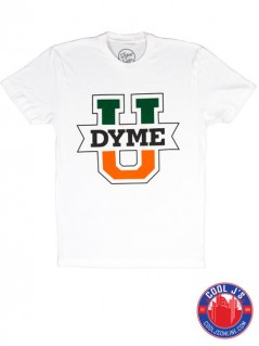DYME LIFE U TEE WHITE at Cool J's in Miami