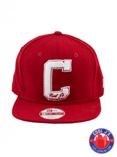 NEW ERA 950 COOL JS SCARLET/WHITE SNAPBACK at Cool J's in Miami