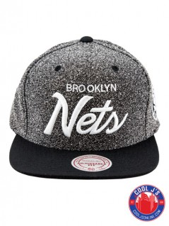 MITCHELL & NESS BROOKLYN NETS STATIC SNAP BACK at Cool J's in Miami
