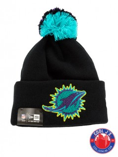 NEW ERA AQUA MIAMI DOLPHINS SKULLY at Cool J's in Miami
