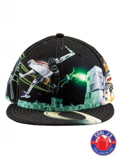 NEW ERA ALL OVER BATTLE XWING FITTED at Cool J's in Miami